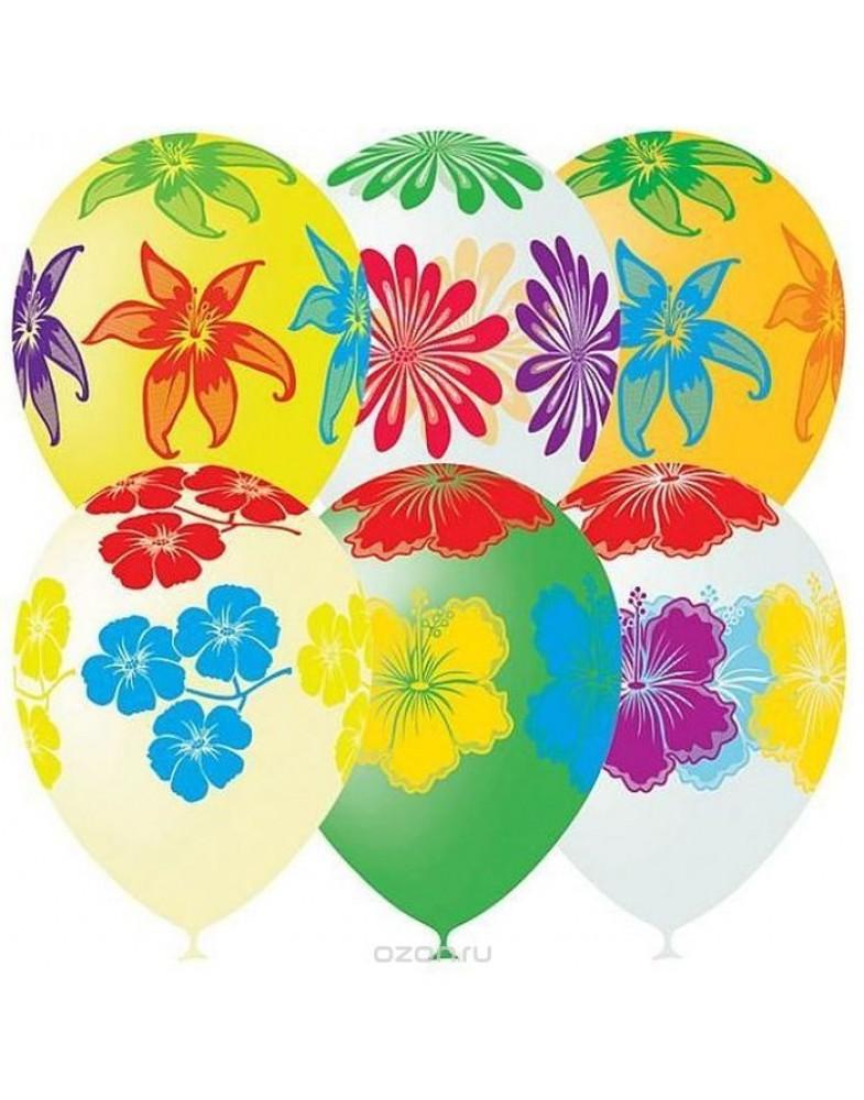 """Воздушные шары """"Цветущий сад"""""""