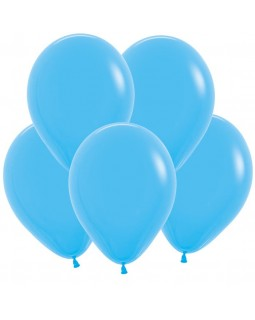 Воздушные шары голубые