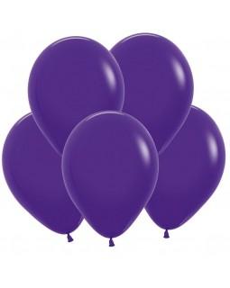 Воздушные шары фиолетовые