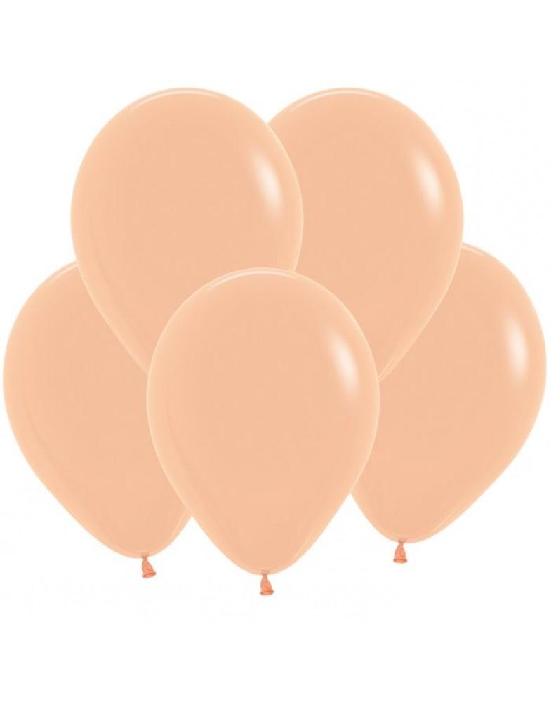Воздушные шары персик