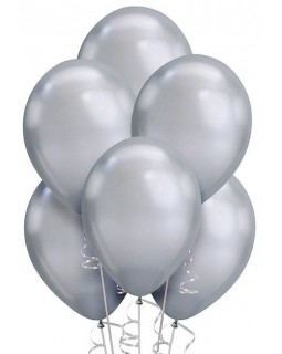 Воздушные шары серебро