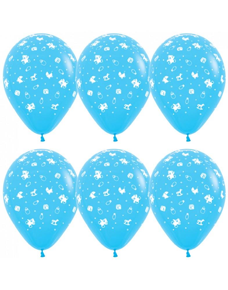 """Воздушные шары """" С Рождением Мальчика"""""""