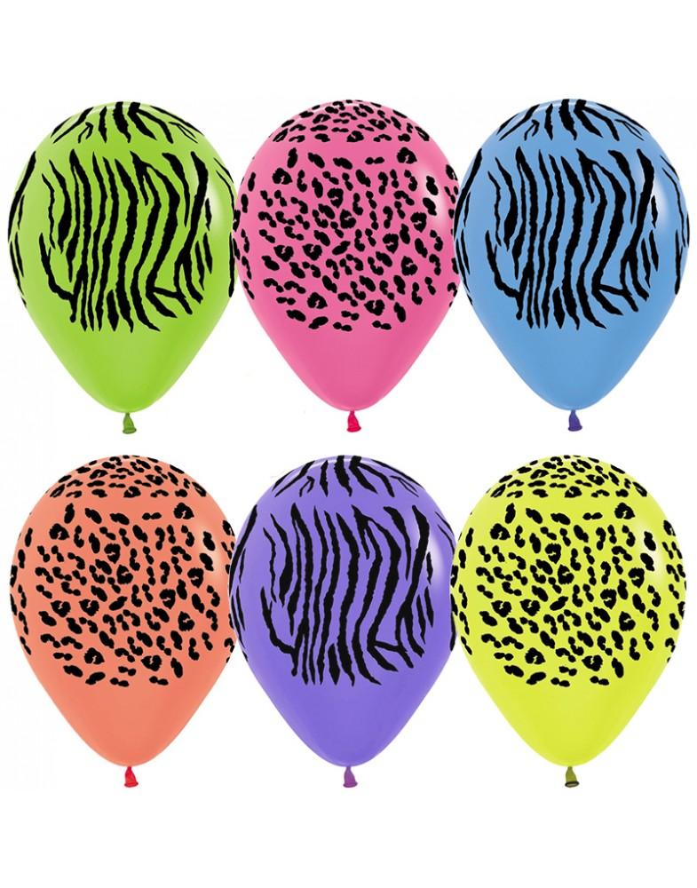 """Воздушные шары """"Джунгли.Неон"""""""