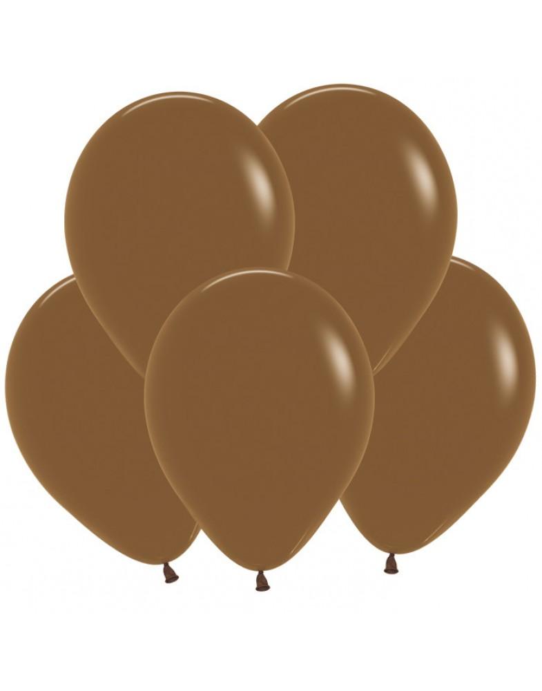 Воздушные шары коричневые