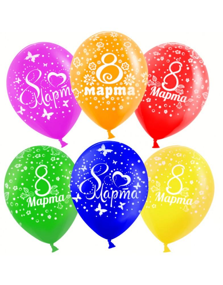 """Воздушные шары """" 8 марта"""""""