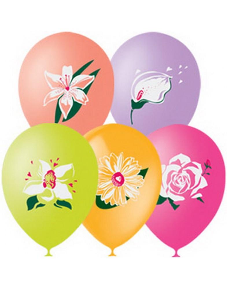 """Воздушные шары """"Цветы"""""""
