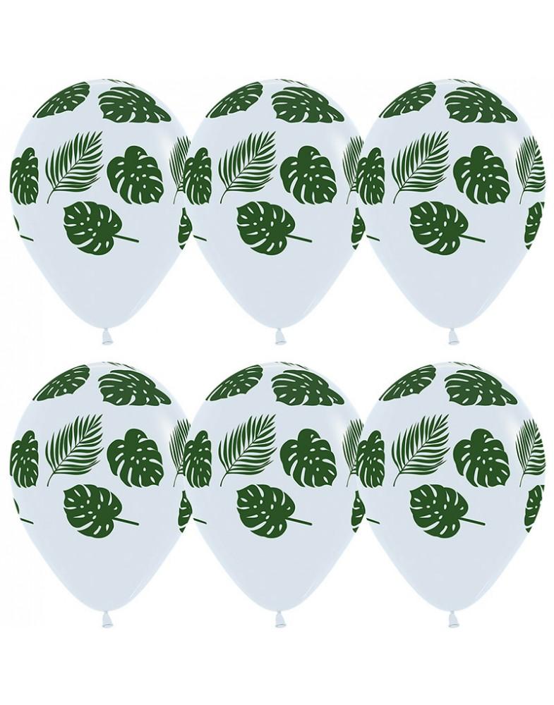 """Воздушные шары """"Зеленые листья"""""""