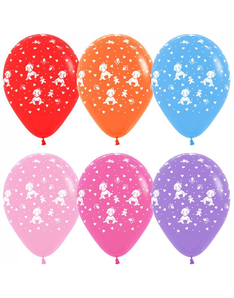 """Воздушные шары """"Малышка девочка"""""""