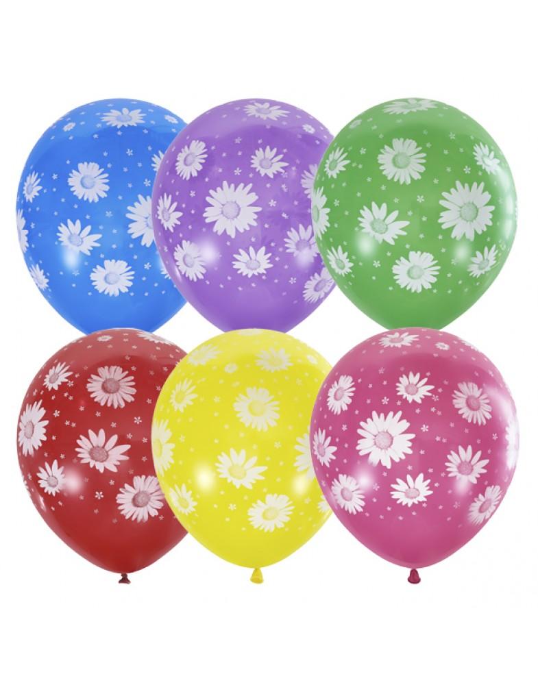 """Воздушные шары """"Ромашки"""""""