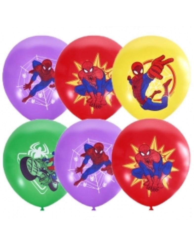 """Воздушные шары """"Человек-Паук"""""""