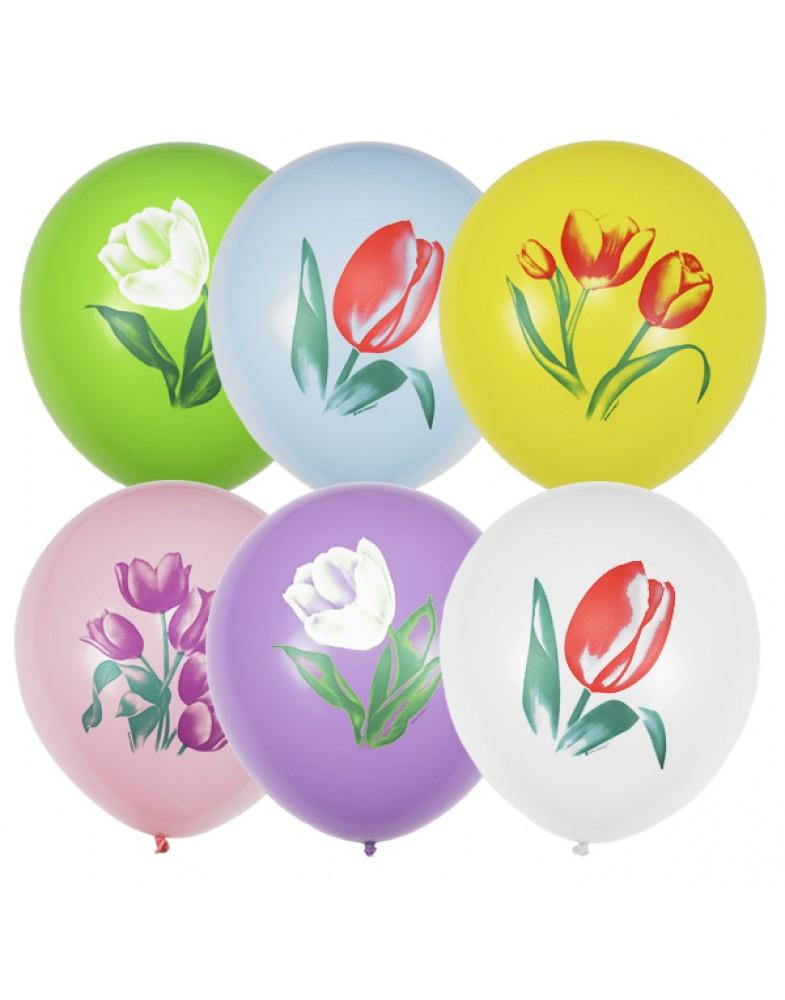 """Воздушные шары """"Тюльпаны"""""""