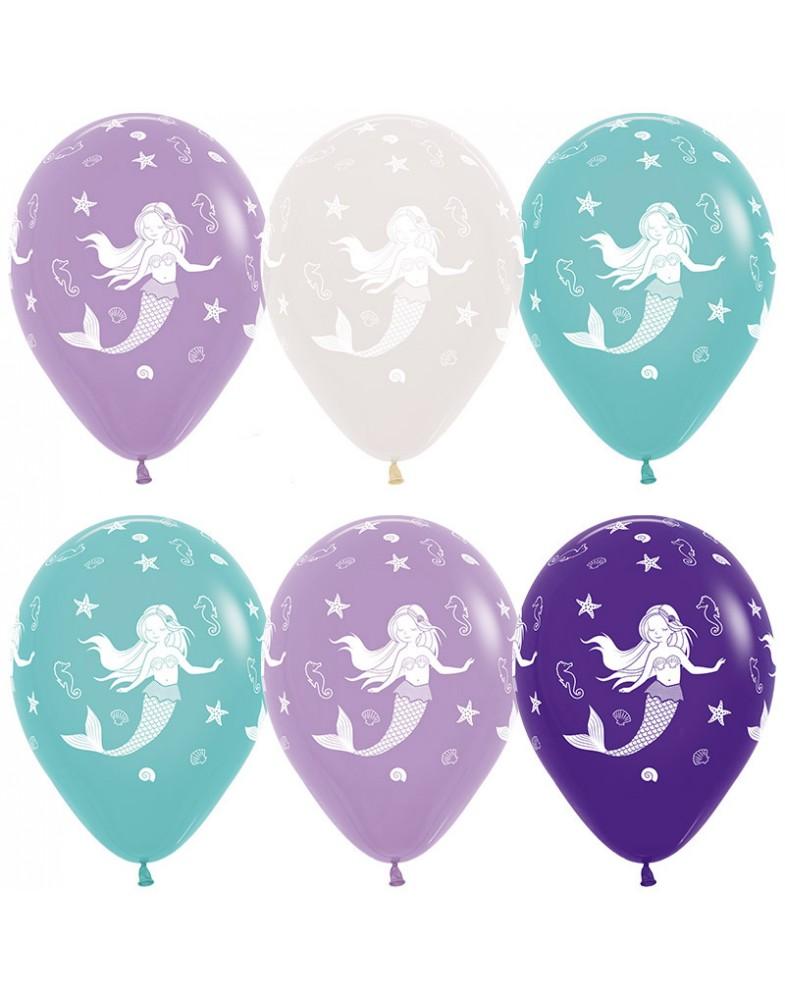 """Воздушные шары """"Русалочка"""""""
