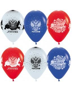 """Воздушные шары """"Россия.Триколор"""""""