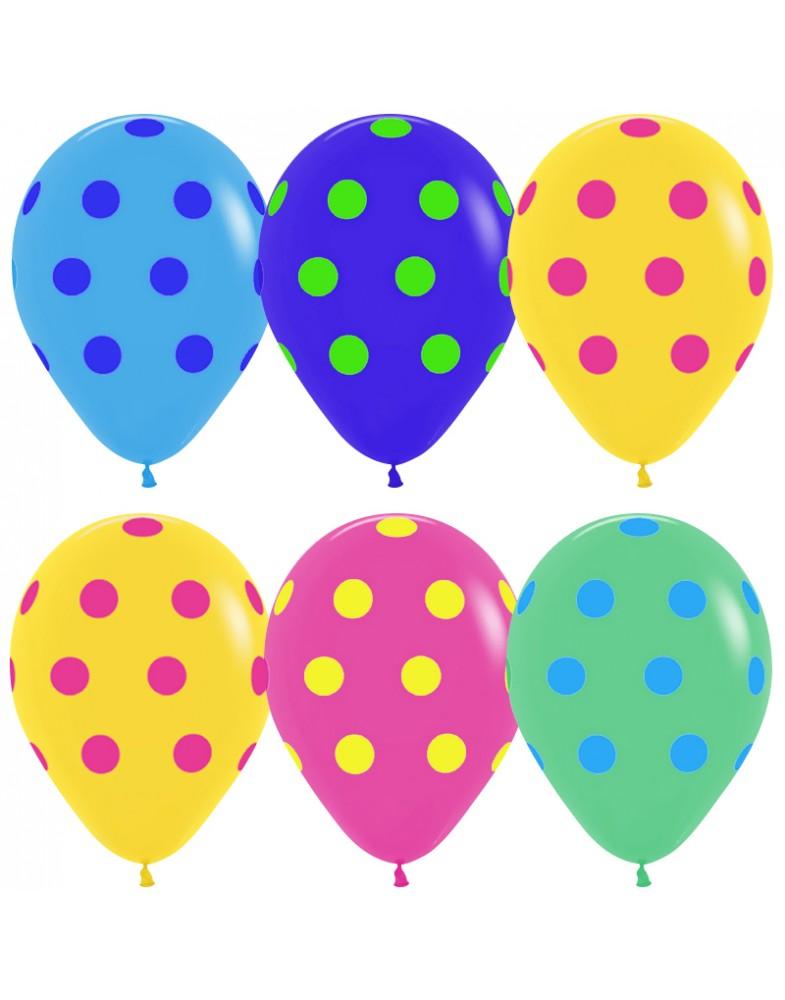"""Воздушные шары """"Цветной горох"""""""