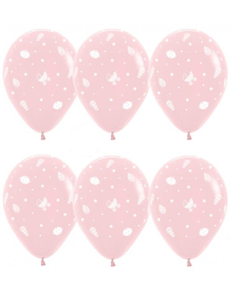 """Воздушные шары """"Улыбка девочка"""""""