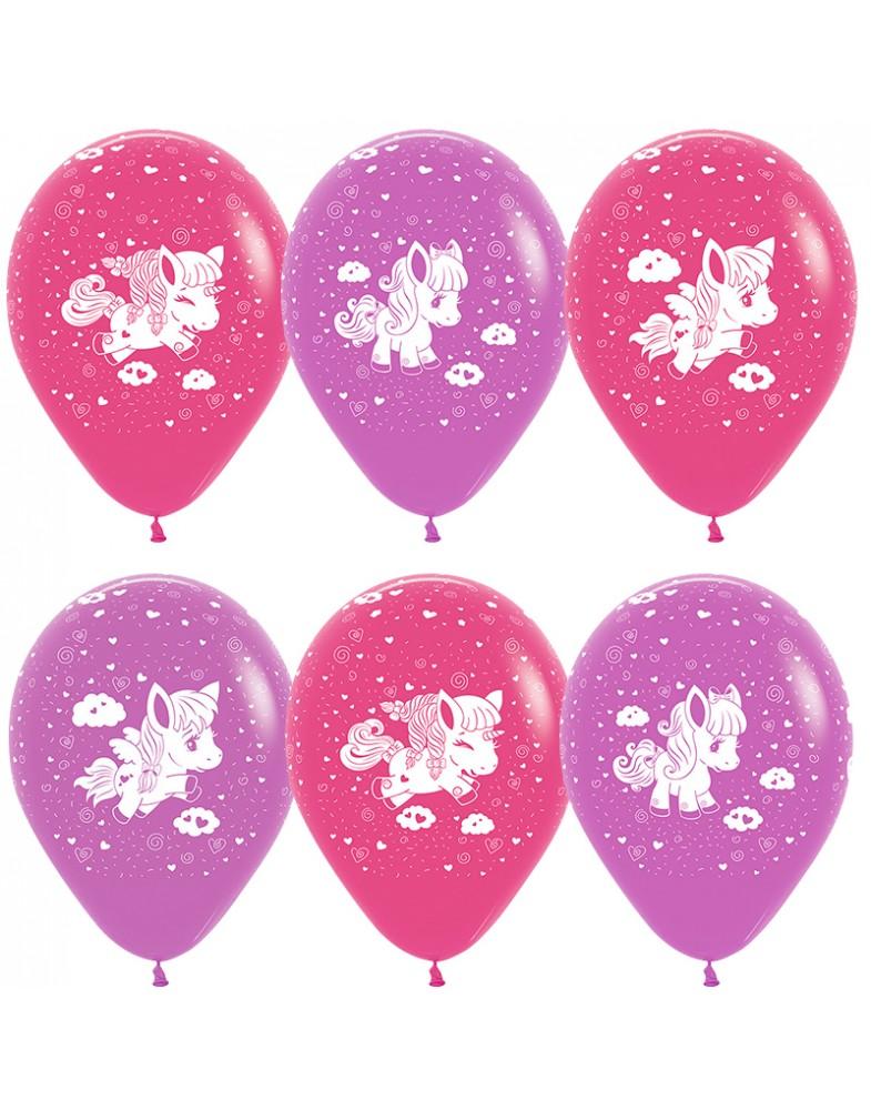 """Воздушные шары """"Пони"""""""
