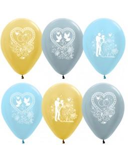 """Воздушные шары """"Свадьба"""""""
