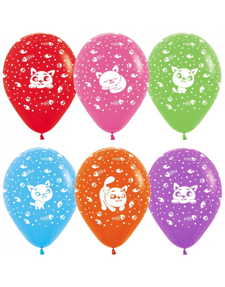 """Воздушные шары """"Кошки"""""""