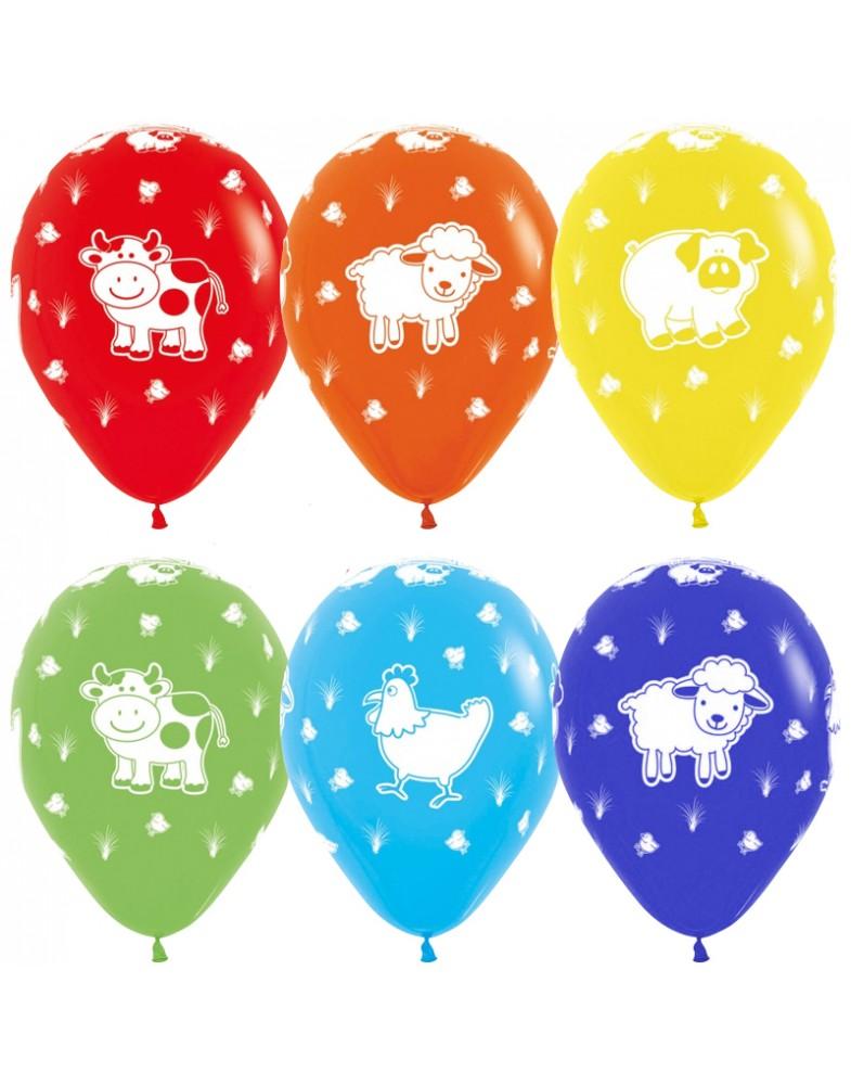 """Воздушные шары """"Веселая ферма"""""""