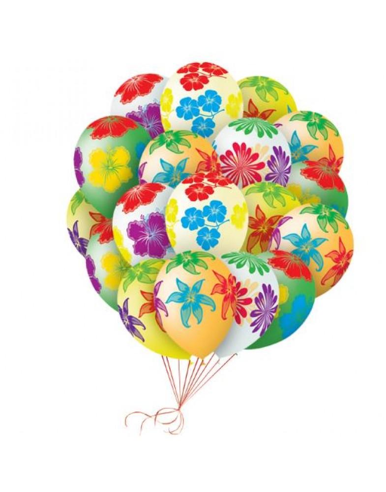 """Связка шаров """"Цветущий сад"""""""