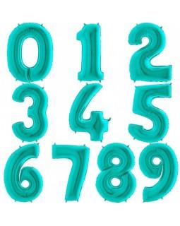 Фольгированная цифра Тиффани