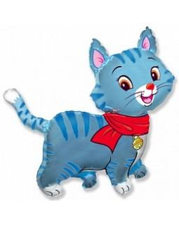 Любимый котенок голубой