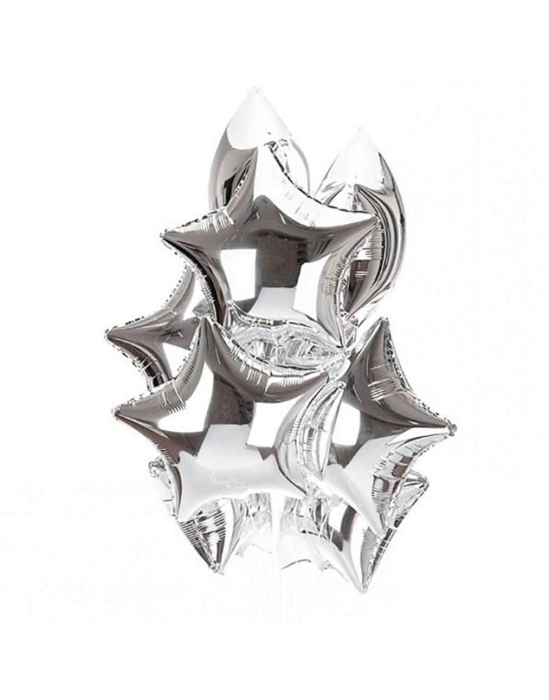 Связка серебряных звезд