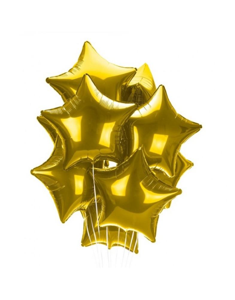 Связка золотых звезд