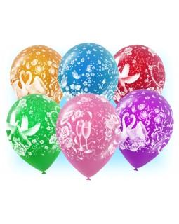"""Воздушные шары """"Совет да любовь"""""""