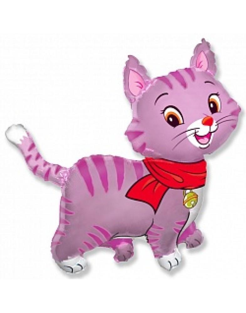 Любимый котенок розовый