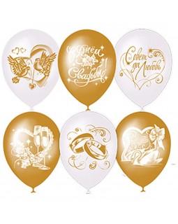 """Воздушные шары """"Свадебная тематика"""""""