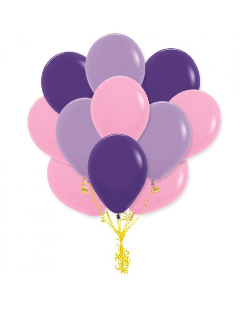 """Связка """"розовый-сиреневый-фиолетовый"""""""