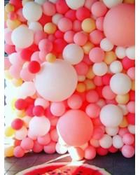 Фотозоны и стены из шаров