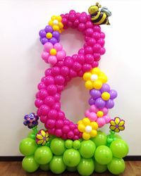 Цифры из шаров