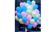 Облака и связки шаров