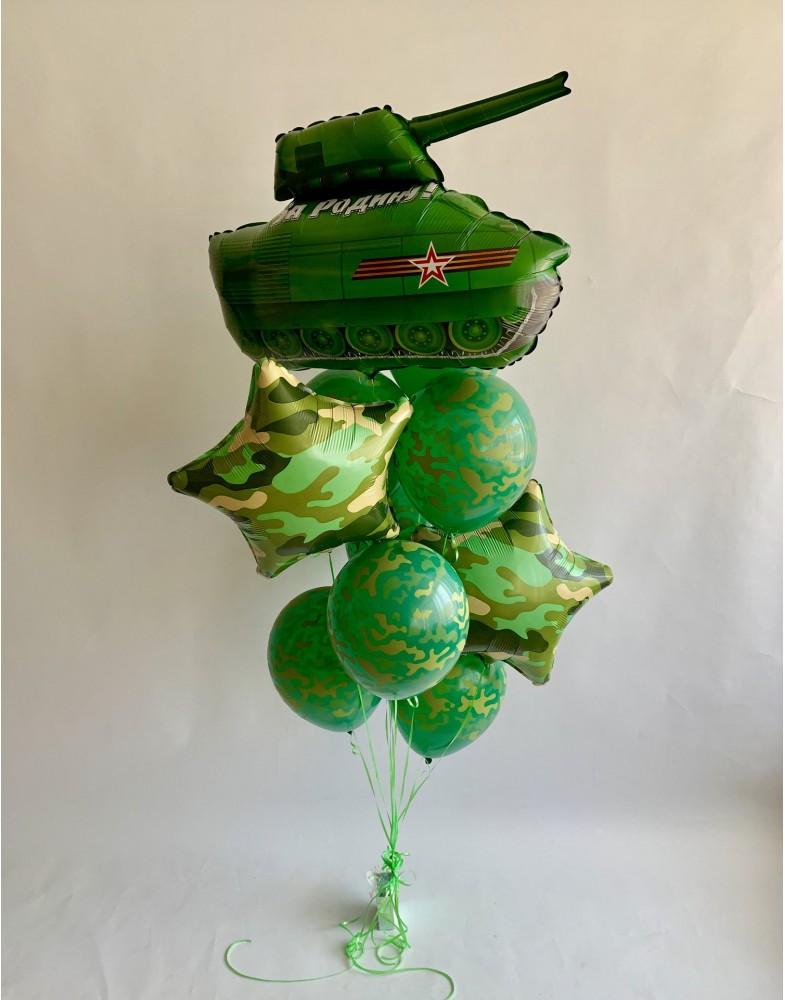 """Воздушный фонтан """"Танк"""""""